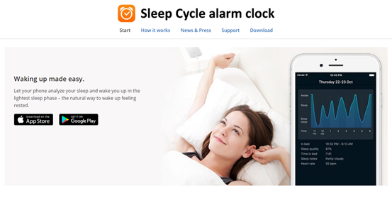 Sleep Cycle App