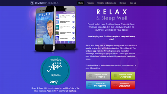 relax and sleep app
