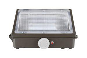 Light Sensors with LED Wall Packs