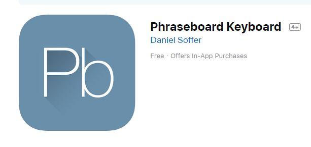 Phraseboard