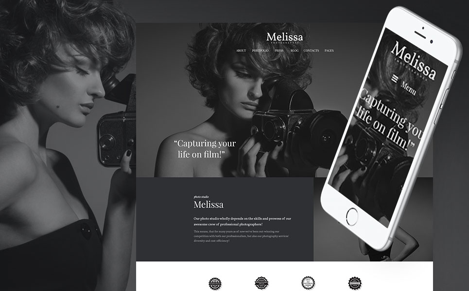 Melissa Crafty Free WordPress Theme