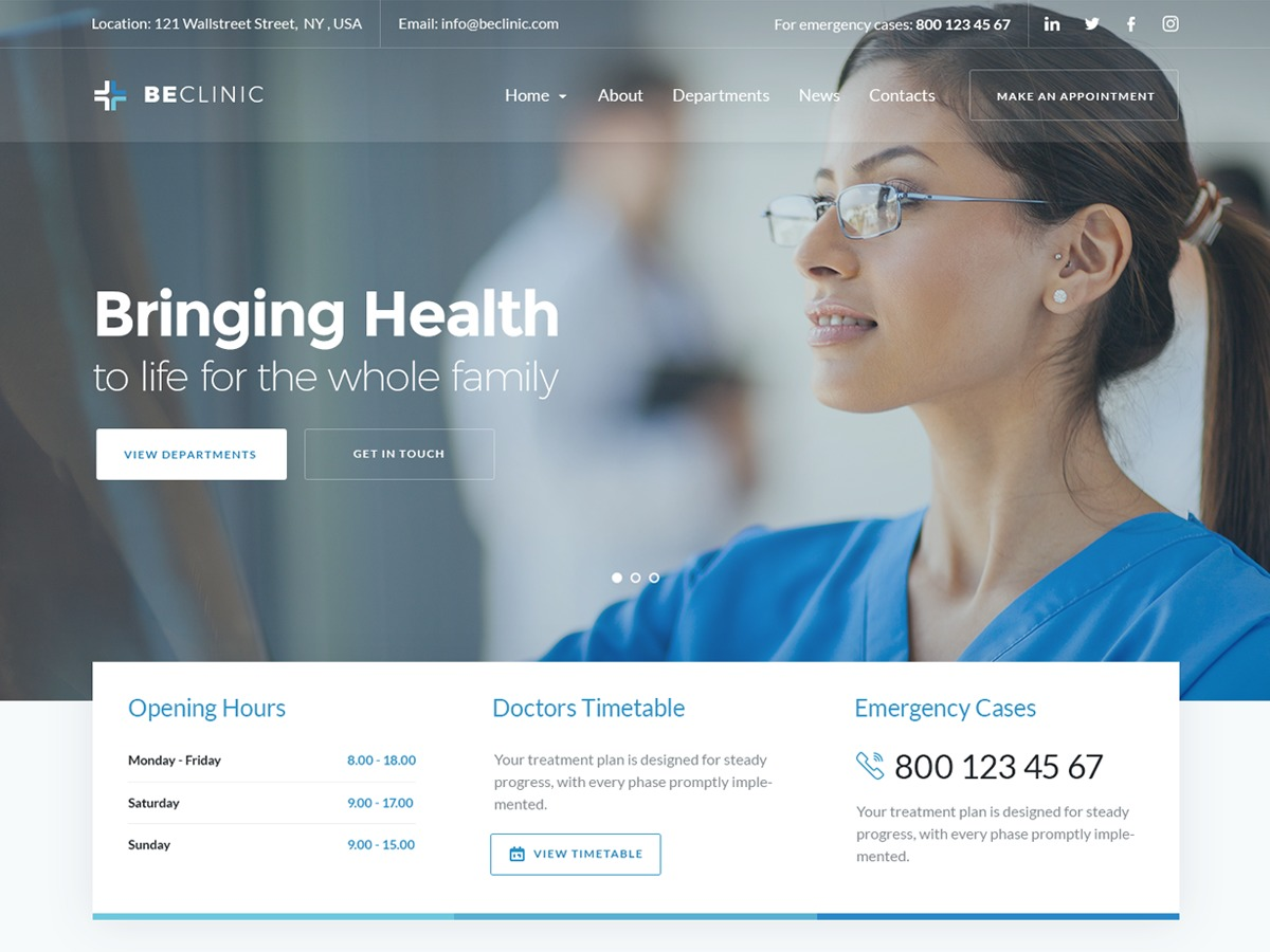 beclinic-medical-wordpress-theme