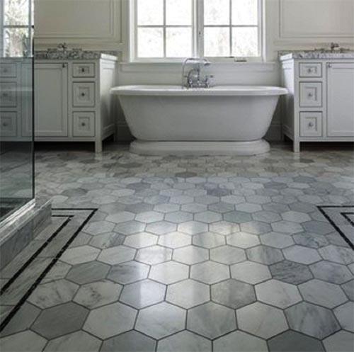 Continuous Floor Tiles