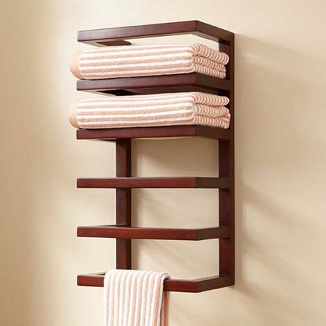 Standing Bathroom Racks