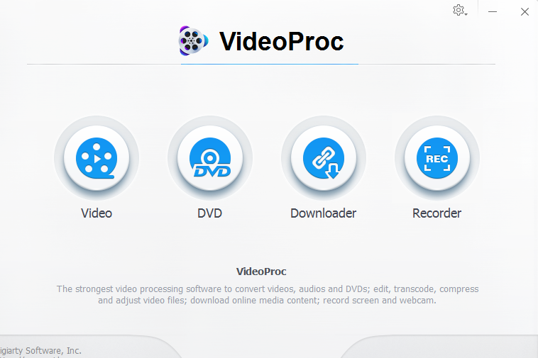 VideoProc iphone