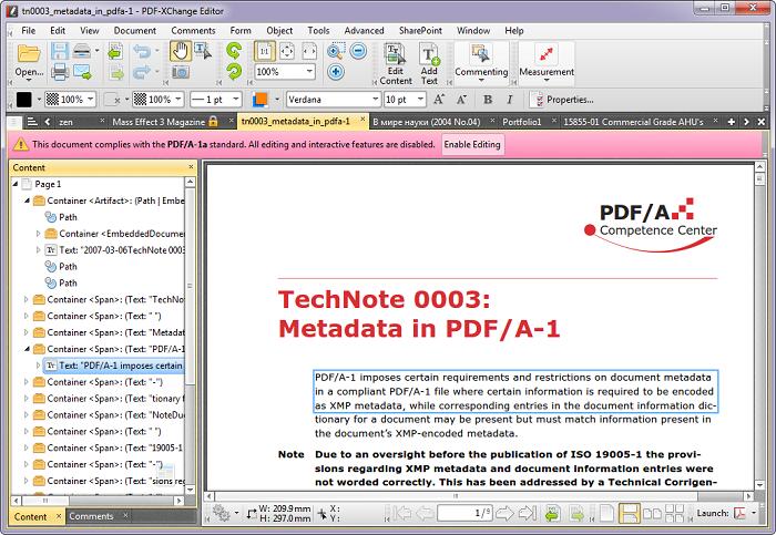 PDF - Xchange Editor