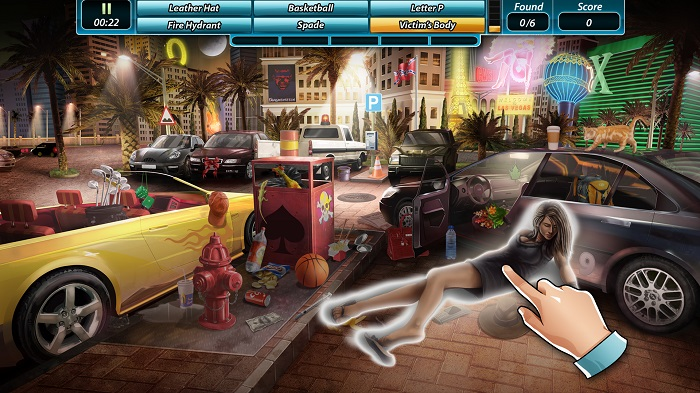 crime scene game
