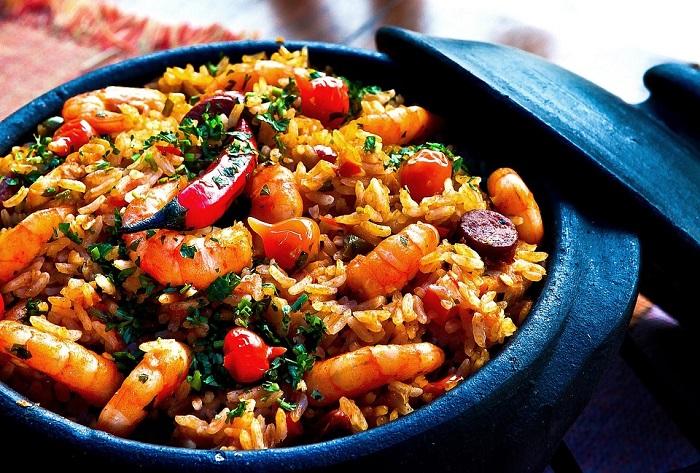 Delicious shrimp... steamed!