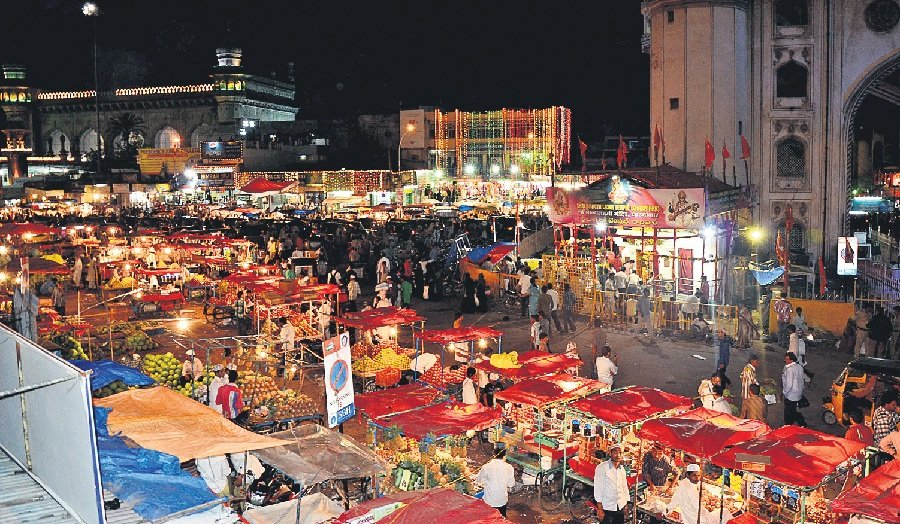 Char Minar Bazaar