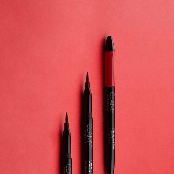 Clamy eyeliner conceptual