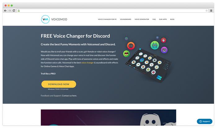 Voice Changer #1. Voicemod