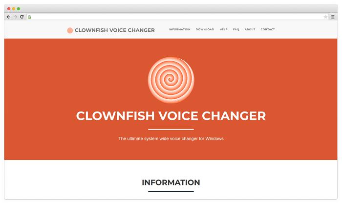 Voice Changer #2. Clownfish Voice Changer