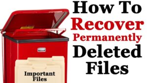 How to Recover Permanently Deleted Files from Recycle Bin in Window