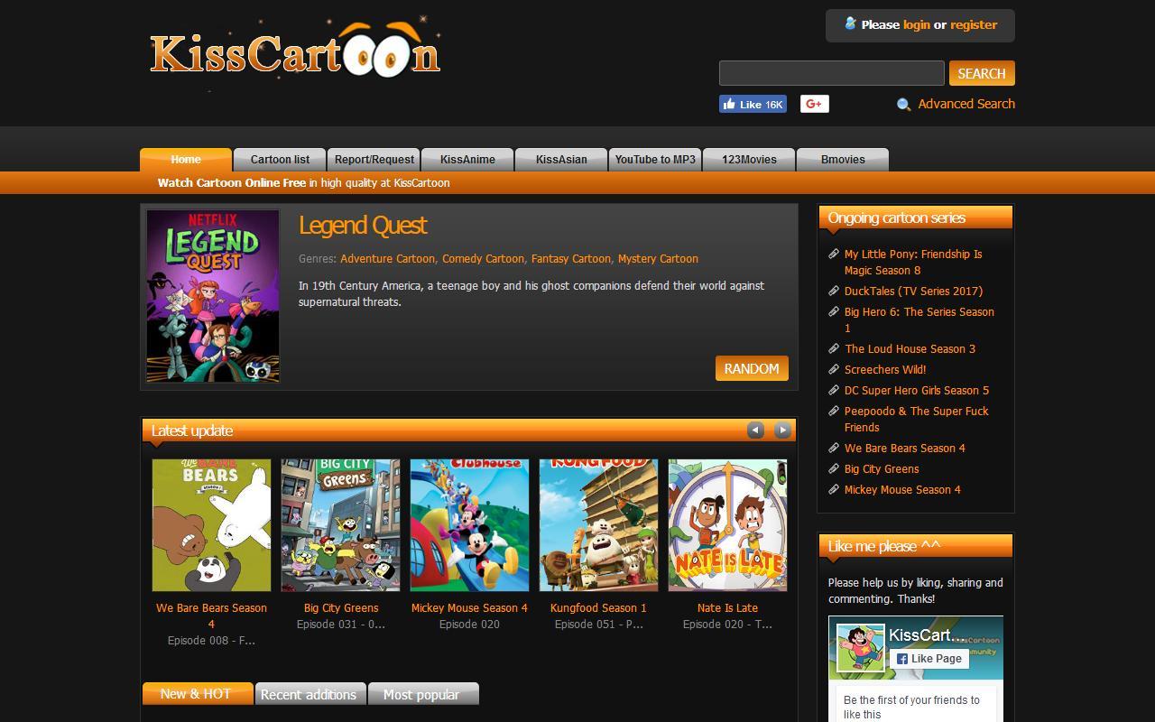Best Websites for Watching Free Cartoons Like KissCartoon