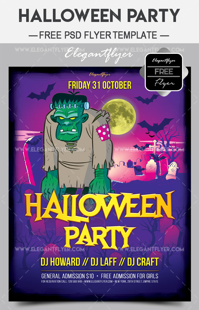 Halloween Free Flyer Templates