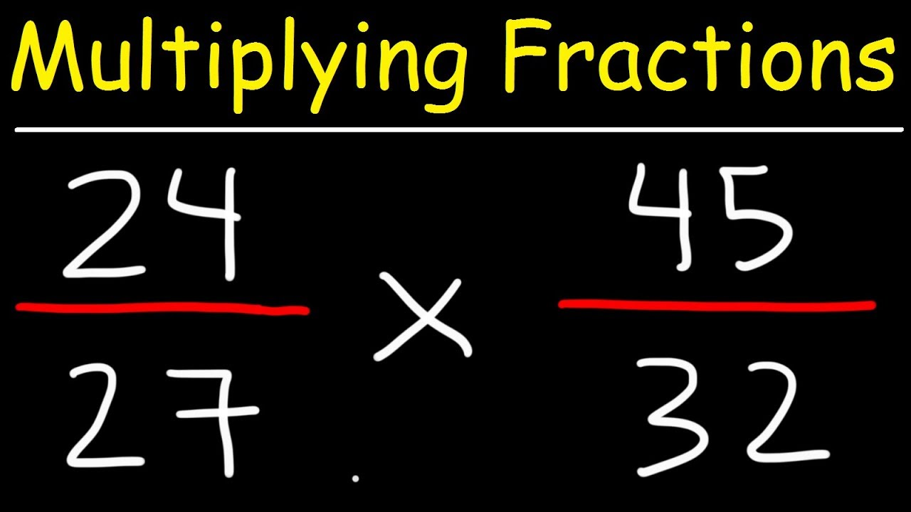 How do we Multiply Fractions