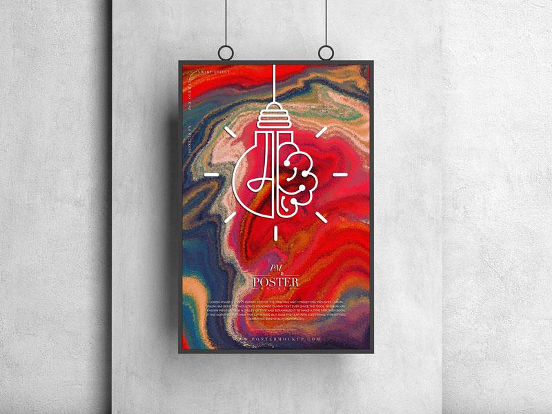 Frame Poster Mockup Free