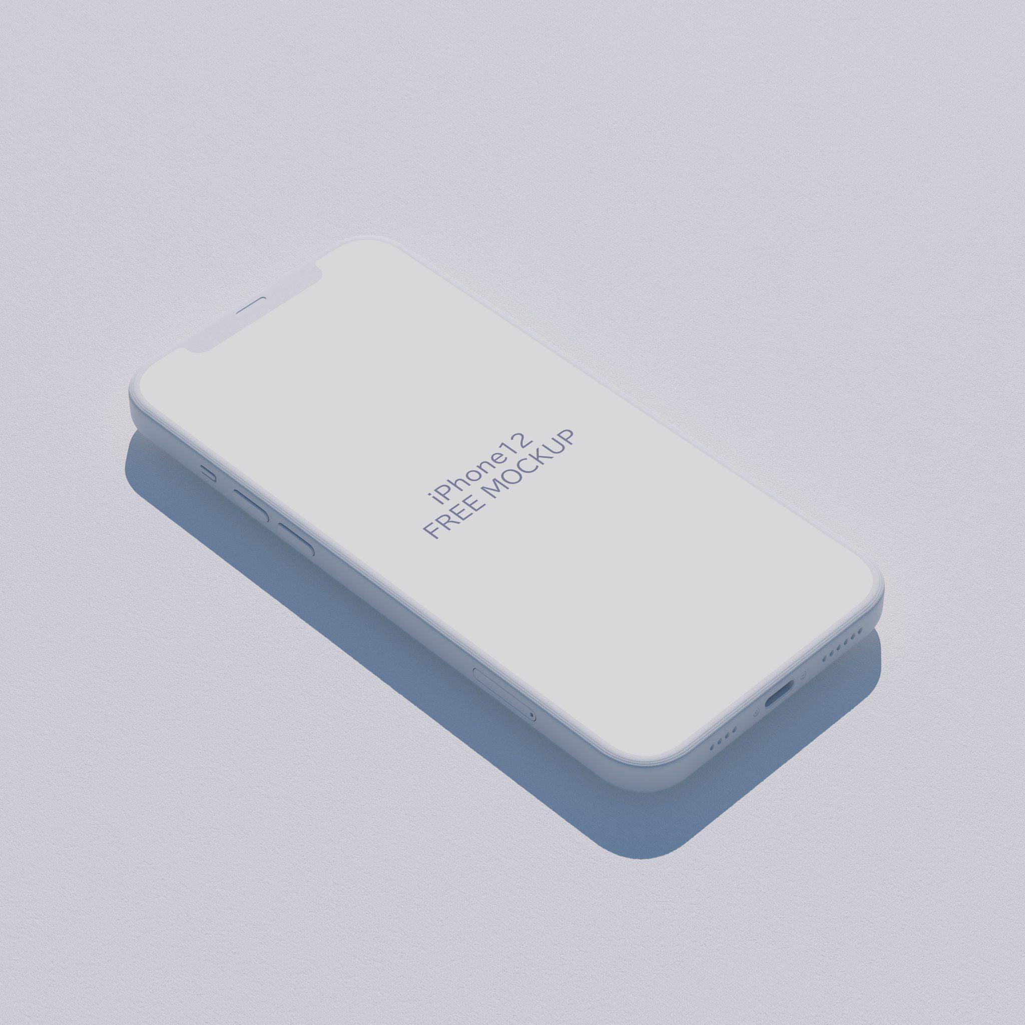 Free iPhone 12 Pro Mockup2