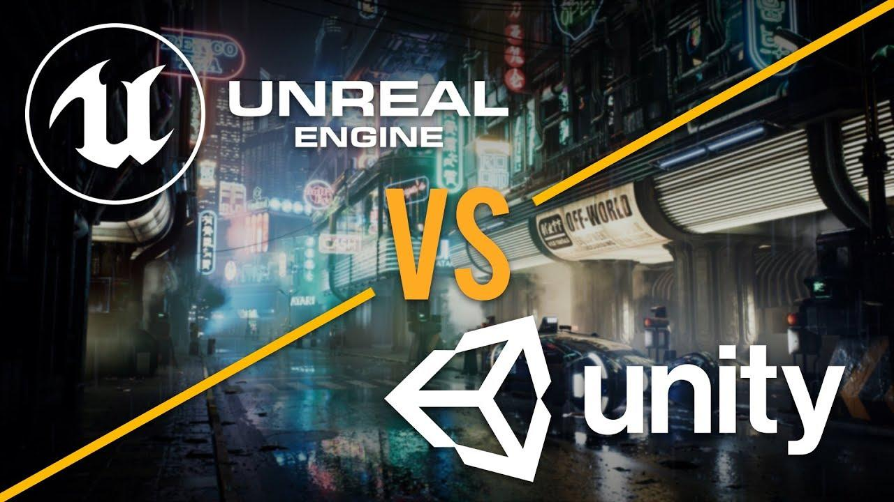 Unreal Engine vs. Unity 3D Games Development
