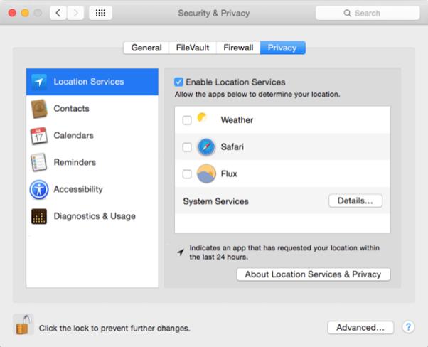Change the Default Security2