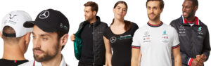 Show your love for Mercedes AMG Petronas with official merchandise