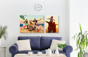 How to Turn old Photos Into Canvas Prints